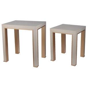 Willa Arlo Interiors Januario 2 Piece Nesting Table Set