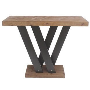 Teton Home Minimalist Console Table