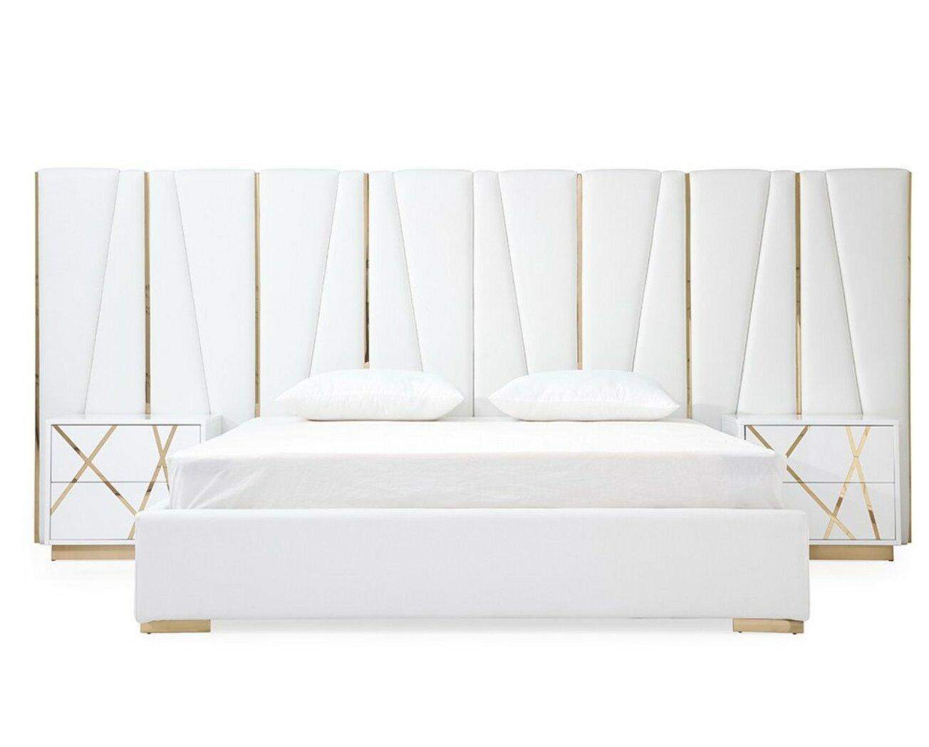 Everly Quinn Foti King Platform Configurable Bedroom Set Wayfair