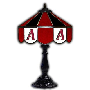 Cleveland Indians Glass 21 Table Lamp