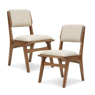 Alvarado Upholstered Dining Chair (Set of 2) Langley Street