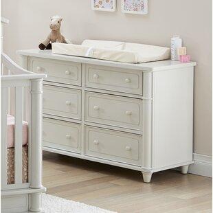 Sienna 6 Drawer Double Dresser by Mira Studios