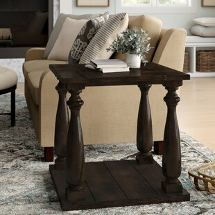 Calila Transitional End Table