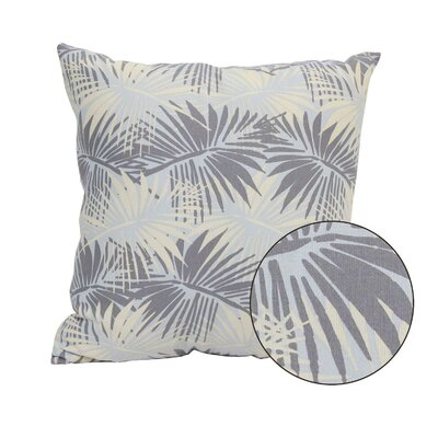 HomeRoots Tropical Palm Pillow