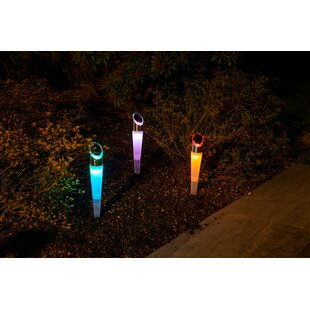 Verdi 3 Piece LED Pathway Light Set (Set Of 3) By Sol 72 Outdoor