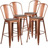 Lynne 30 Bar stool (Set of 4) by Williston Forge