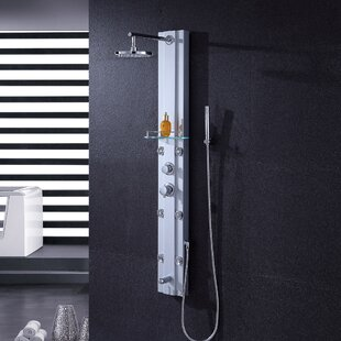 Luxier Thermostatic Rain Shower Head Shower Panel
