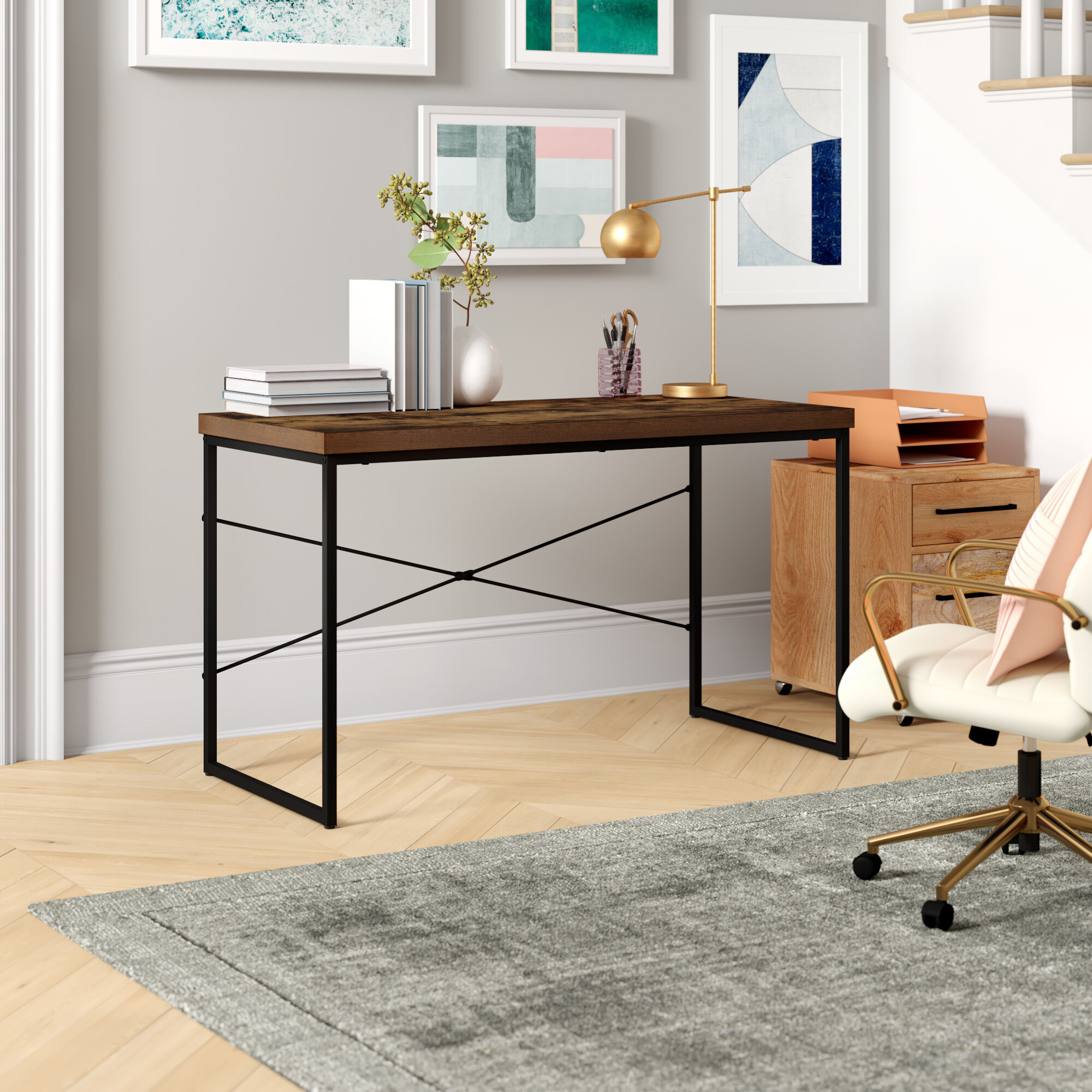 Industrial Desks You Ll Love In 2020 Wayfair