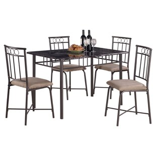 Little Elm 5 Piece Dining Set by Wildon Home�