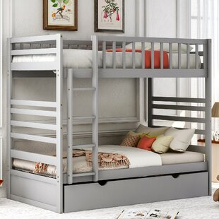 Carrboro Twin Over Twin Bunk Bed with Trundle by Isabelle amp Max