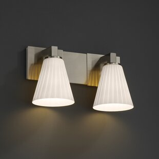 Reviews Christion 2-Light Vanity Light By Brayden Studio