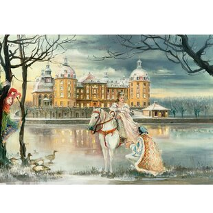 Bruck and Sohn Cinderella Scene Advent Calendar by The Holiday Aisle