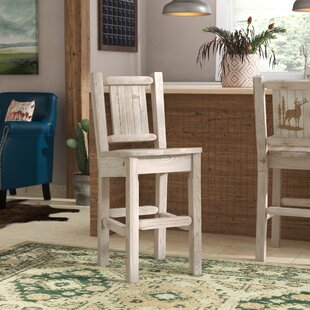 Abella Handcrafted 24 Bar Stool Loon Peak
