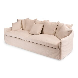 Shop Frost Ecru Sofa by Sarreid Ltd
