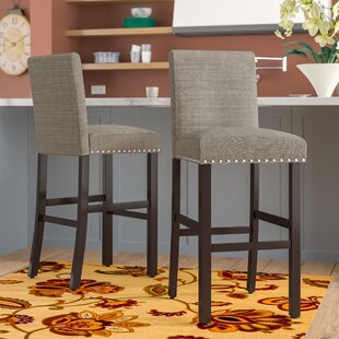 Santillo 30 Bar Stool (Set of 2) by Charlton Home
