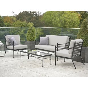 Mirabel 4 Seater Sofa Set By Sol 72 Outdoor