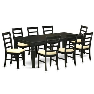 Celeste 9 Piece Dining Set Red Barrel Studio