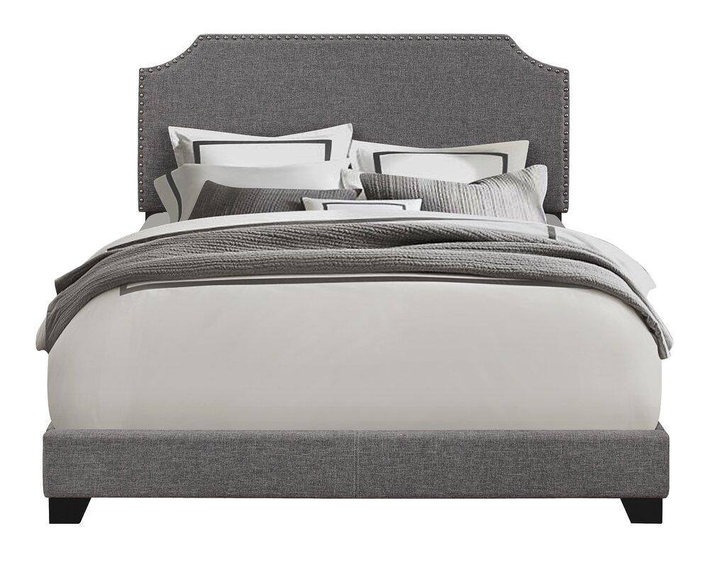 telia upholstered panel bed