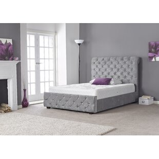 Joel Upholstered Bed Frame By Canora Grey