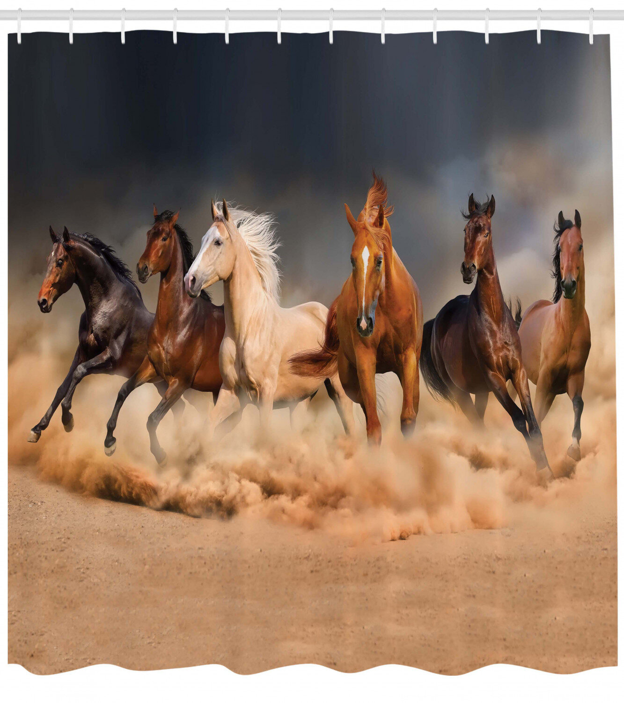 Horse Shower Curtain Set Hooks