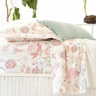design products ines decor beauty by hill burke bed ineslinenduvetcover cone bedding linen pine