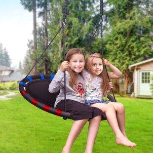 Spinner Swing Kids Indoor Outdoor Mat
