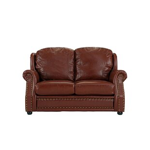 Hinton Charterhouse Leather Loveseat