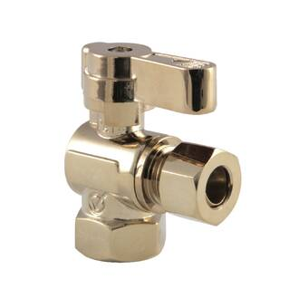 Kingston Brass Fauceture Compression Angle Valve Wayfair