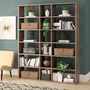 Ottley Geometric Bookcase By Brayden Studio