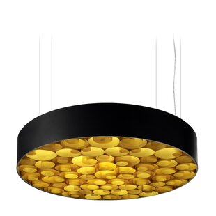 LZF Spiro LED Drum Pendant