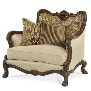 Michael Amini Chateau Beauvais Chair and a Half