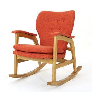 Pleasant Brayden Studio Saulsberry Fabric Rocking Chair Jalow Nanny Machost Co Dining Chair Design Ideas Machostcouk
