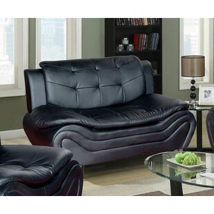 Ethel Modern Living Room Loveseat by PDAE Inc.