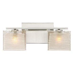 Denebola 2-Light Vanity Light By Latitude Run Wall Lights
