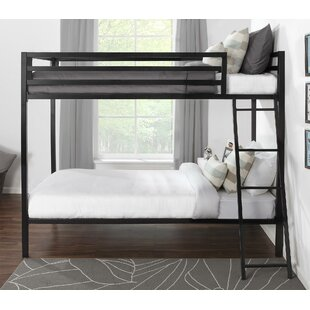 Price comparison Doshie Metal Twin over Twin Bed by Mack & Milo Reviews (2019) & Buyer's Guide