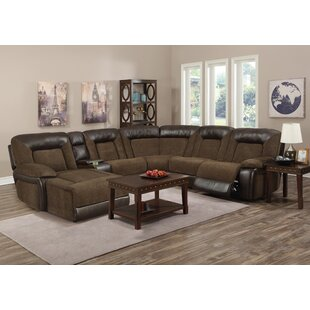 Compare prices Fenwick Landing Reclining Sectional by Red Barrel Studio Reviews (2019) & Buyer's Guide