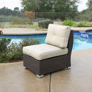 Leib Center Patio Chair with Cushion