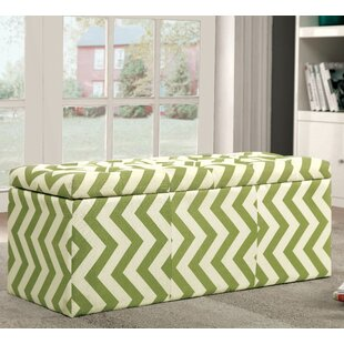 Latitude Run Zarah Upholstered Storage Bench