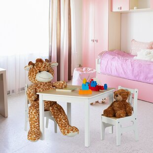 Hackett 3 Piece Children's Play Table By Harriet Bee
