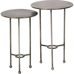 Liev 2 Piece Nesting Tables by 17 Stories