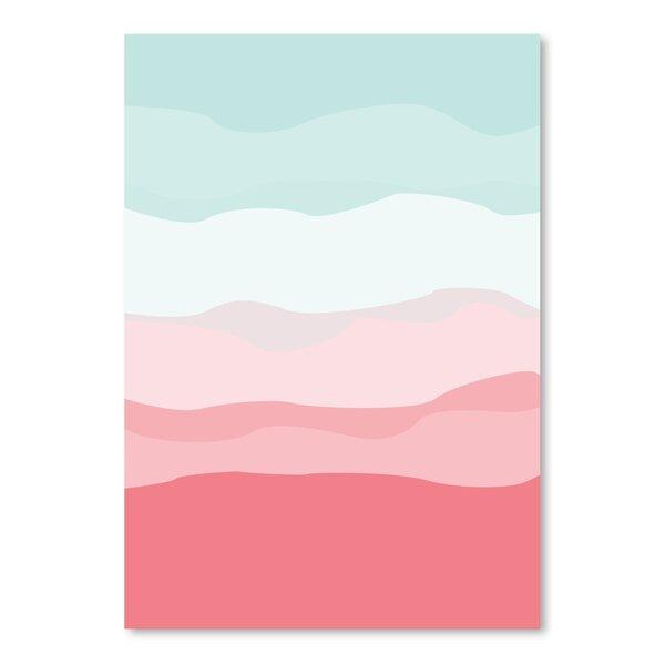 Mint Abstract Art Wayfair