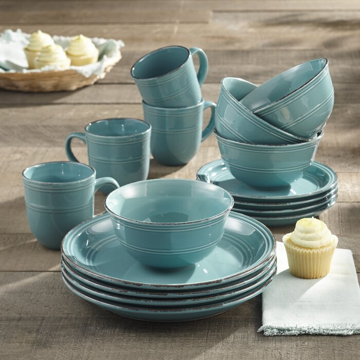 16-Piece Annabelle Dinnerware Set