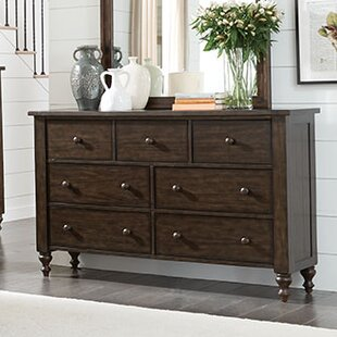 Darby Home Co Schneider 7 Drawer Double Dres..