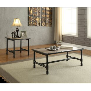 Leandro 2 Piece Coffee Table Set