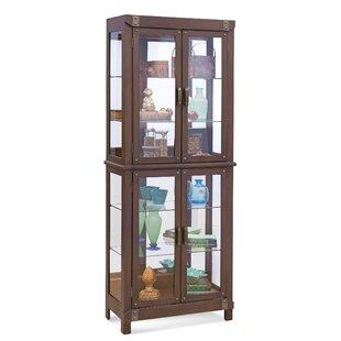 Philip Reinisch Co. Tribeca I Lighted Curio Cabinet