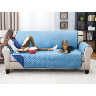 Affordable Price T-Cushion Sofa Slipcover by Winston Porter Reviews (2019) & Buyer's Guide