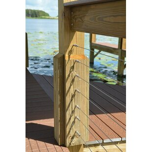 1.8 In. H X 250 Ft. W Cable Stair Railing By Aress