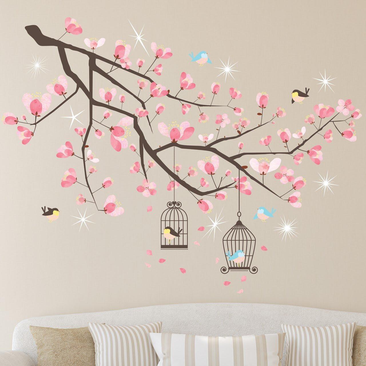 Winston Porter Crystal Cherry Blossom