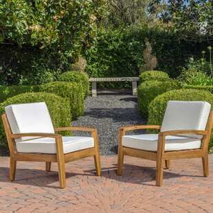 Reviews Gaia Armchair (Set of 2) by Highland Dunes