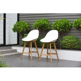 Cruce 27.5 Bar Stool (Set of 2) by Corrigan Studio